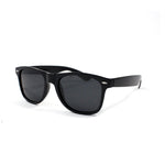 Black Squared Off Retro Sunglasses