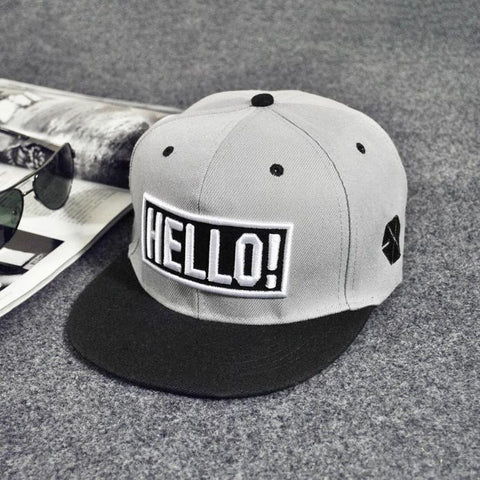 Hip Hop  Embroidery Solid Colors Classic Fashion Trend Hat