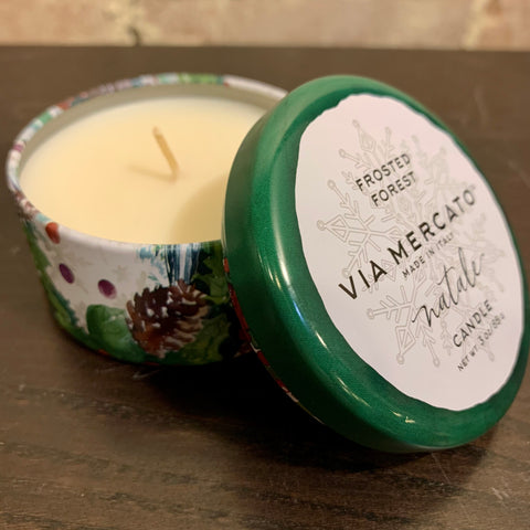 Natale Mini Candle (3oz) - Frosted Forest