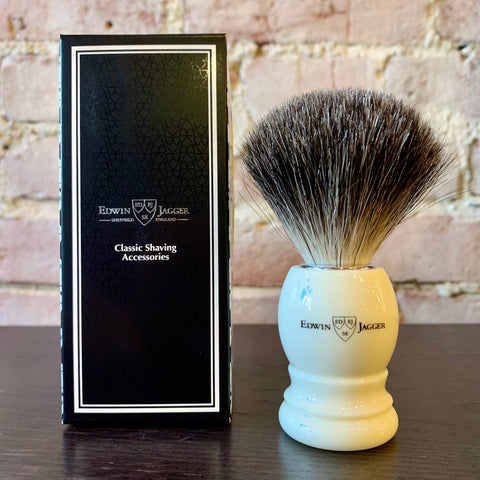 Edwin Jagger Shaving Brush – Pure Badger