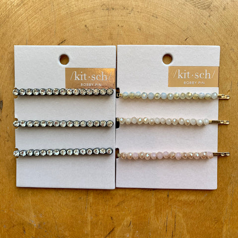 Kitsch 3pc Bobby Pin Set