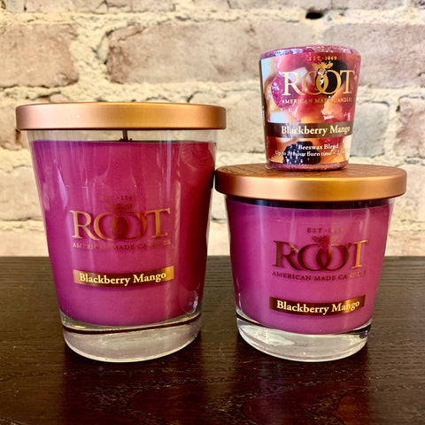 Root Candles Blackberry Mango