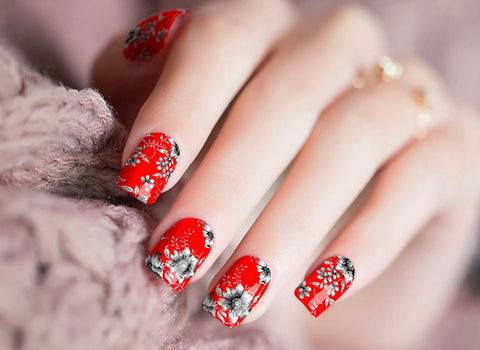 Oh Red Nail Polish Wraps