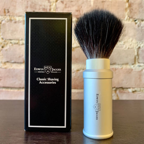 Edwin Jagger Synthetic Travel Shaving Brush