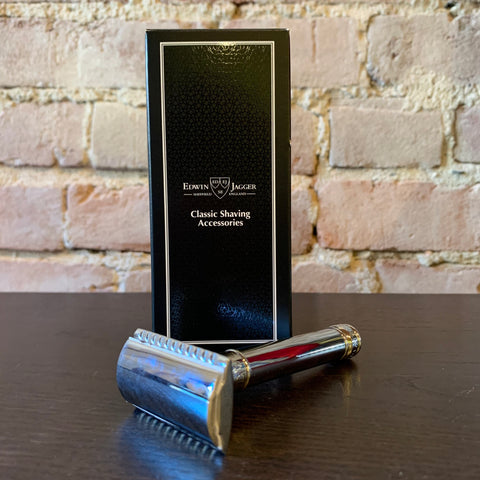 Edwin Jagger Safety Razor - Chrome