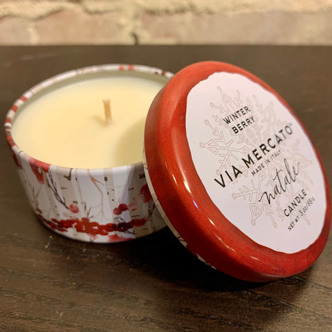 Natale Mini Candle (3oz) - Winter Berry
