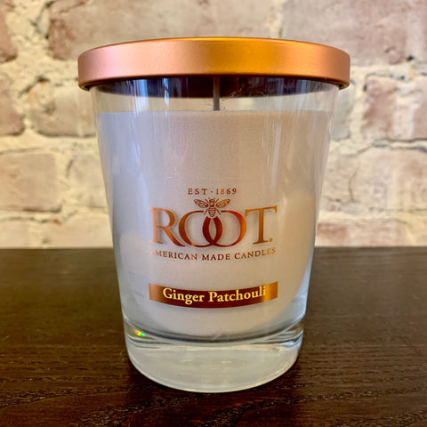 Root Candles Ginger Patchouli