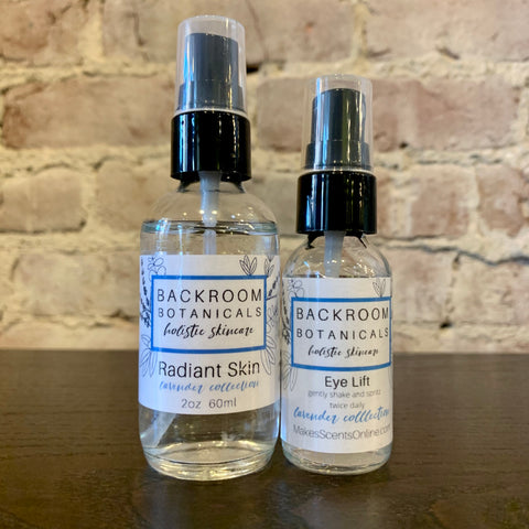 Backroom Botanicals Lavender Collection