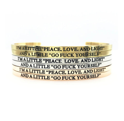 "I'm A Little ""Peace, Love, and Light"" Set"