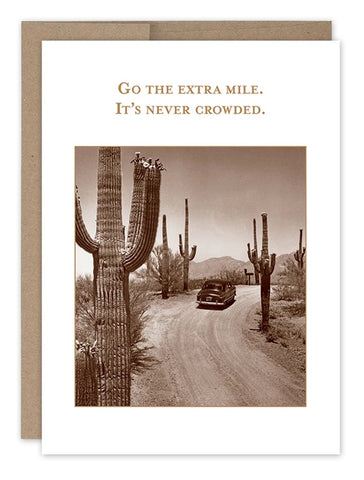 Go The Extra Mile (Encouragement)