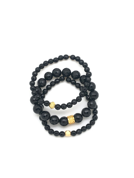 Black Onyx - Stack of 3