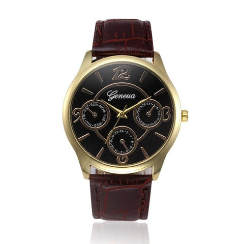 Top Luxury Brand Men's Quartz Stainless Steel Business Watch - LUNAP Co