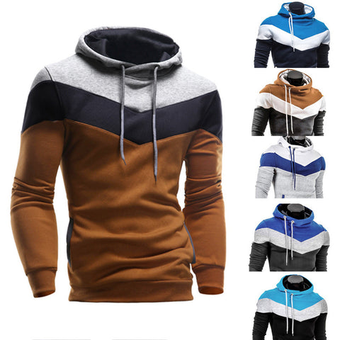 Men's Retro Long Sleeve Hoodie Hooded Sweatshirt Tops Jacket Coat Outerwear - LUNAP Co