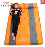 192*132cm on sale brand new Trackman 2 persons PVC automatic inflatable mattress cushion outdoor camping mat moisture pad