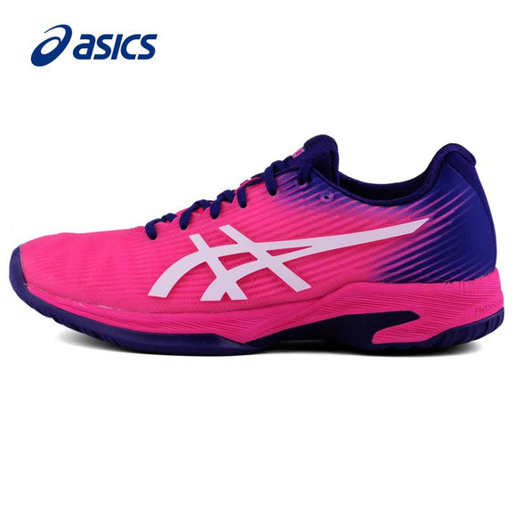 2018 Asics Tennis Shoes Solution Speed Ff Brand Sneakers For Women Woman Sport Shoes 1042a002-700