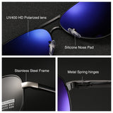 2018 HD Polarized UV 400 men's Sunglasses brand new male cool driving Sun Glasses driving eyewear gafas de sol shades with box