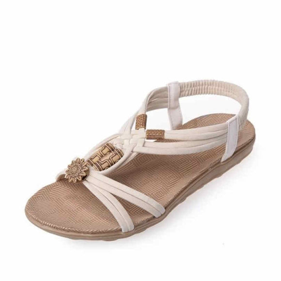 2019 Bohemia Gladiator Beach Flat Casual Sandals Fashion Summer Women Shoes Leisure Female Ladies Sandals