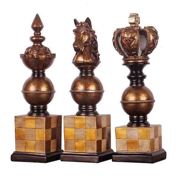 2019 New Creative Chess Decoration Home Decoration Decoration Home Living Room Decoration Resin Crafts 38cm*11cm