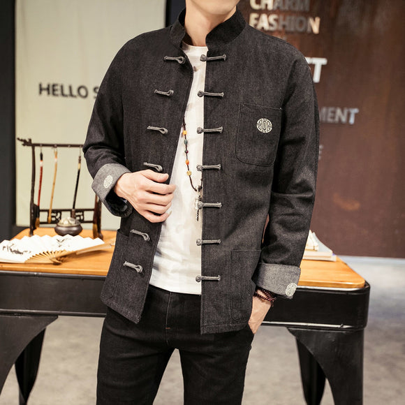 2019 new japan style kimono men 100% cotton&linen loose mens jackets plus sleeve open stitch casual coat male windbreaker