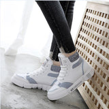 2019 the new autumn winter  New Fashion Brand Lady  Shoe Women Shoe Mesh  Sneaker Lace Up boots size 35-40 y765