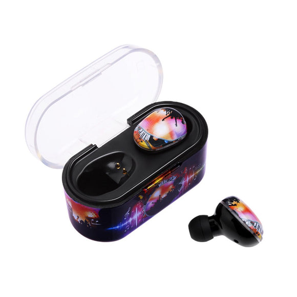 2020 newest fashion high quality Wireless Colorful  Headset Bluetooth 5.0 Earbuds Headset Portable Charging Box dropshipping