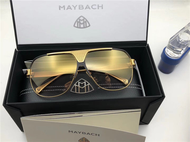 6af2dfef9b5 ... Luxury-Top K gold men eyewear car brand Maybach designer glasses Pilot  titanium frame top ...