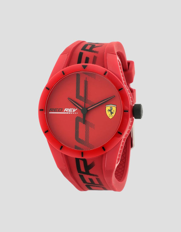 EXCLUSIVE FERRARI STORE RED RED REV WATCH