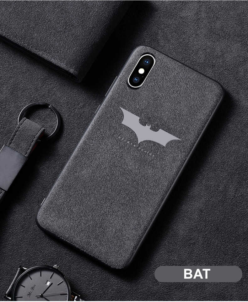 timeless design 5b934 64f78 Alcantara Suede Fur Cover Case for iPhone 6 6S Plus 7 8 7plus X XR XS Max  10 Luxury Vintage Motorsport Car Leather Soft Cases