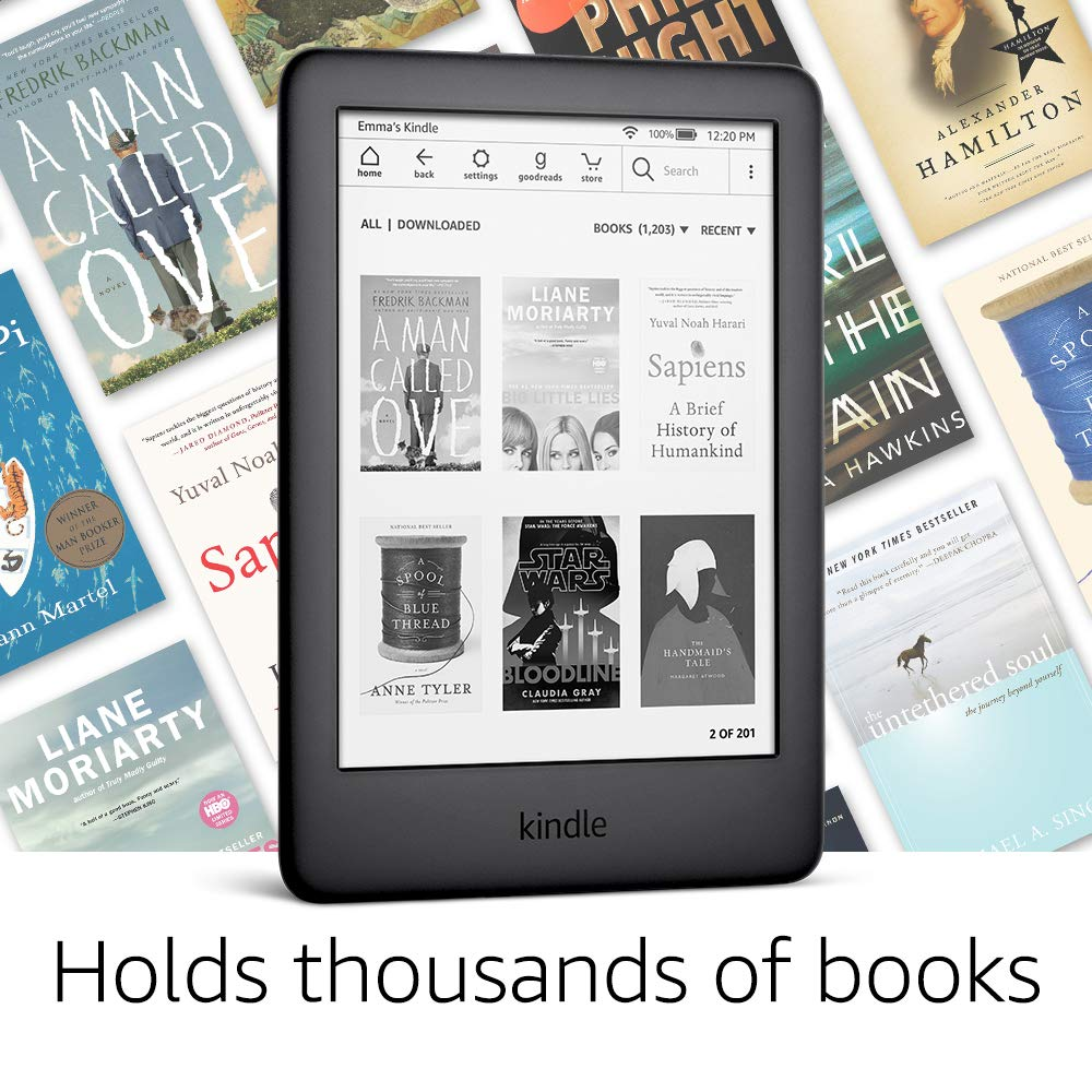 All-new Kindle Black 2019 version, Now with a Built-in Front