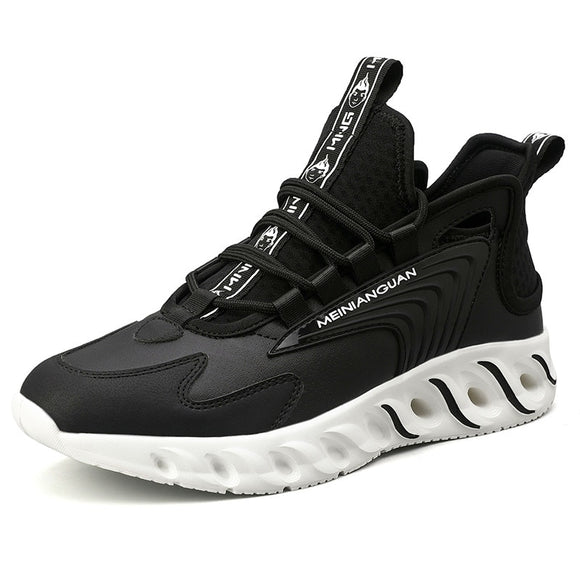Autumn New Blade Men's Shoes Fashion Comfortable Running Shoes Breathable and Skid-proof Sports Shoes Walking Leisure Shoes