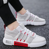 Men's shoes spring 2019 new white sports shoes canvas flat sports shoes summer shoes breathable spor ayakkabi erkek MM-128