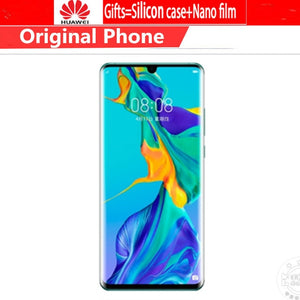 "DHL Fast Delivery HuaWei P30 Pro Cell Phone Kirin 980 Android 9.1 6.47"" 2340X1080 8GB RAM 512GB ROM 40.0MP NFC Fingerprint IP68"