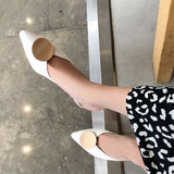 FEDONAS Women Classic Design Pointes Toe High Heeled Party Working Pumps Spring Summer Shoes Woman Cow Leather Casual Sandals