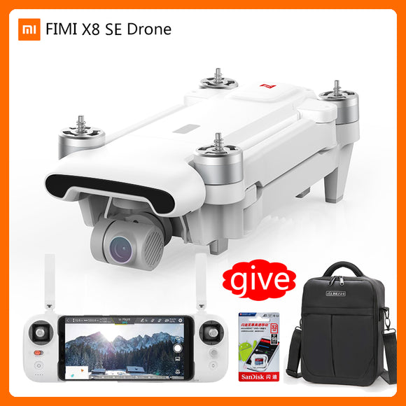FIMI X8SE 5KM range FPV 3-axis Gimbal 4K Camera  33minutes Flight Time GPS RC Drone toys AS free shipping