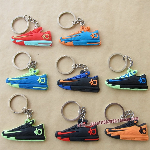 FREE SHIPPING by FEDEX 300pcs/lot Wholesale Kevin Durant KD 6 shoe keychains