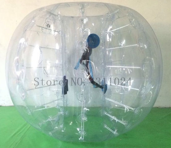 Free Shipping Inflatable Bubble Soccer Ball 0.8mm PVC 1.5m Dia Air Zorb Ball Inflatable Bumper Bubble Balls Bumper Football
