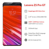 Global ROM Lenovo Z5 Pro GT Snapdragon 855 Smartphone 8GB RAM 256GB 128GB ROM 6.39'' In-Screen Fingerprint 24MP