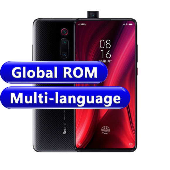 Global ROM Xiaomi Redmi K20 Pro 8GB 256GB Smartphone Snapdragon 855 Octa Core Front 48MP Rear Camera AMOLED 6.39