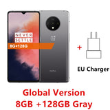 Global Rom Oneplus 7T 6.55 inch Oxygen OS Based On Android 10 Snapdragon 855 Plus Octa Core 8GB RAM 128GB ROM 3800mAh Battery