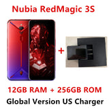 Global Version Nubia Red Magic 3S Mobile phone 6.65 inch 8GB 128G 256GB Snapdragon 855 Plus 48.0MP+16.0MP 5000mAh Game Phone