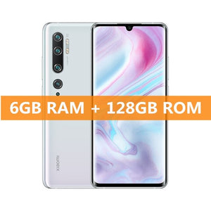 "Global Version Xiaomi Mi Note 10 6GB RAM 128GB ROM Smartphone Snapdragon 730G 108MP Penta Camera 5260mAh Battery 6.47"" Display"