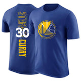 Golden State Klay Thompson Stephen Curry T-shirt short-sleeved cotton sports basketball t-shirt dpoy brand