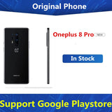 "Original Oneplus 8 Pro 5G Mobile Phone Snapdragon 865 Android 10.0 6.78"" 3180x1440 120Hz 12GB RAM 256GB ROM 48.0MP IP68"