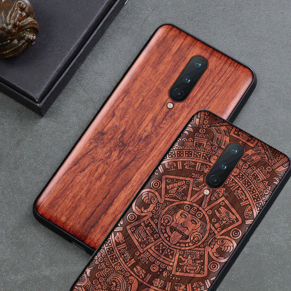 Oneplus 8 pro Case Boogic Original Wood funda Oneplus 8 Rosewood Cover Phone Case For Oneplus 8 Pro