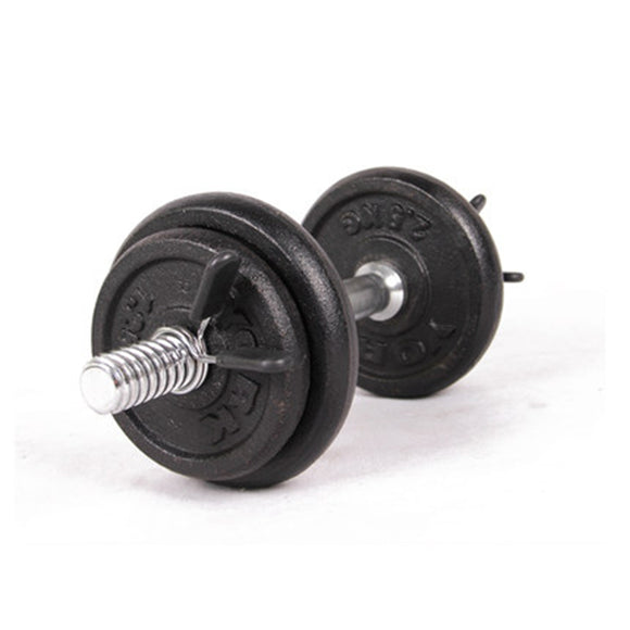 Barbell Lock 2Pcs 30mm Barbell Gym Weight Lifting Bar Dumbbell Lock Clamp Spring Collar Clips