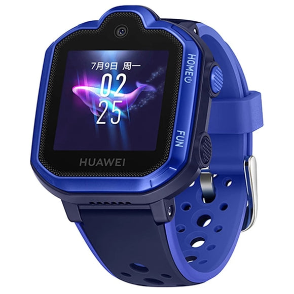 HUAWEI Kids Smart Watch 3 Pro 4G LTE WiFi Blue 5M Camera 1.4 inch  Colorful Touch Display Android IOS SOS  Call Voice Assistant