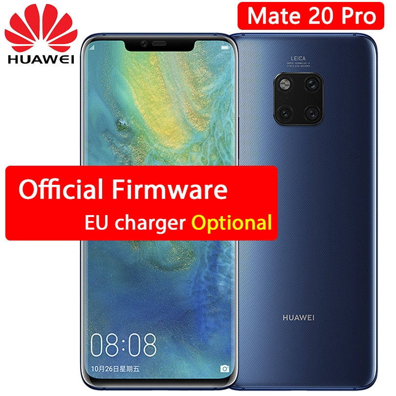 info for fb9b8 02e81 HUAWEI Mate 20 Pro Mobile Phone 6.39 inch Full Screen waterproof IP68 40 MP  4 Cameras Kirin 980 octa core quick charger 10V/4A-in Cellphones from ...