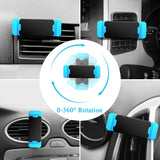 Hisomone Universal Car Phone Holder Pop Stand Air Vent Mount Holder 360 Degreen Car Holder For Phone Support 4-6 inch Socket