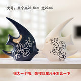 Home Furnishing ceramic ornaments large animal jewelry lovers living room decoration company