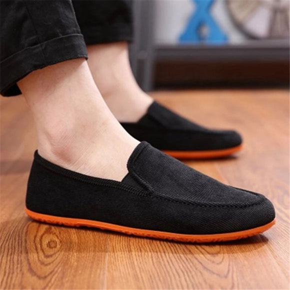 Hot Sale Casual Shoes For Men Spring Summer Breathable Flats Shoes Comfortable Light Weight Slip-on Loafers Shoes Men